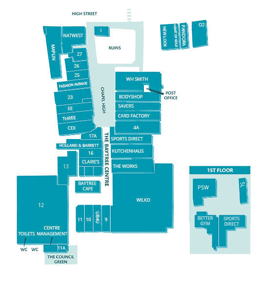 baytree store map