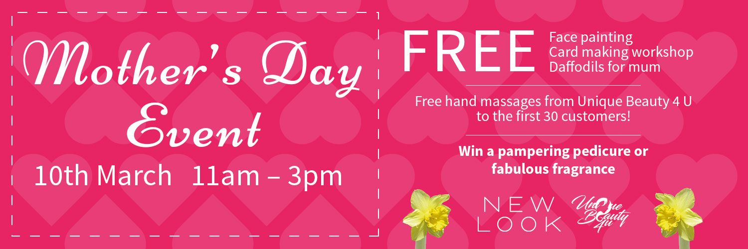Mother's Day Event - 10th March 11am - 3pm