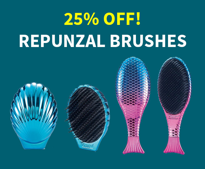 25% off Repunzal Brushes