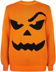Orange Halloween Pumpkin Jumper