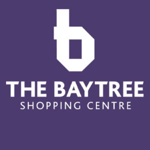 baytree logo on purple background