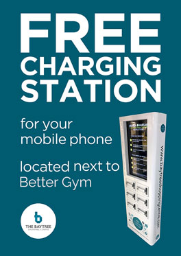 Free Charging Station for your mobile opposite Wilko