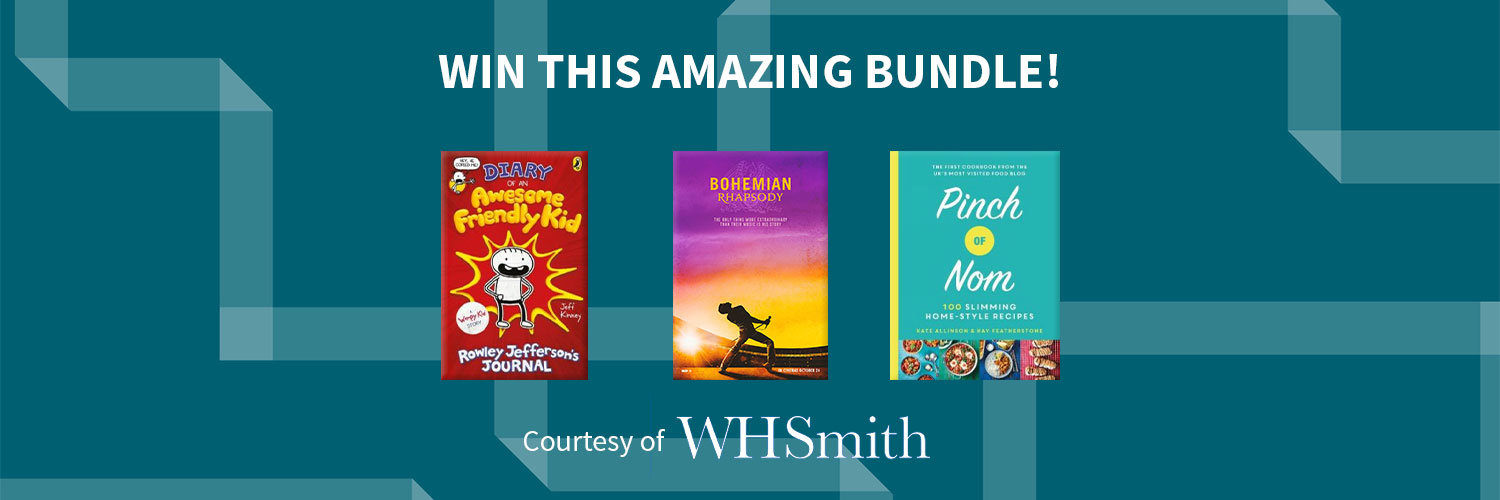 Win this amazng bundle, courtesy of W H Smith