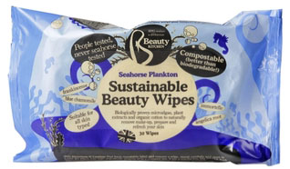Beauty Kitchen Seahorse Plankton Compostable Face 30 Wipes