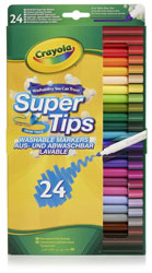 Crayola Supertips 24 pack