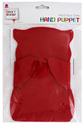 Stitch Your Own Hand Puppet - Assorted
