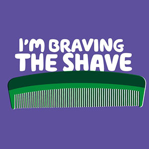 I'm braving the shave