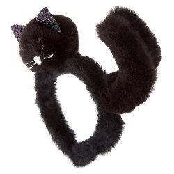 Halloween cat headband