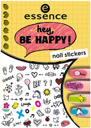 Rollover to Zoom essence Hey Be Happy Nail Stickers